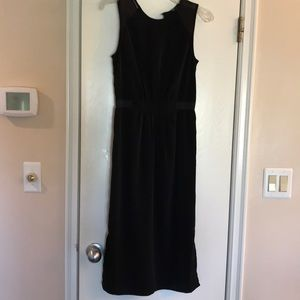 Black H&M polyester dress